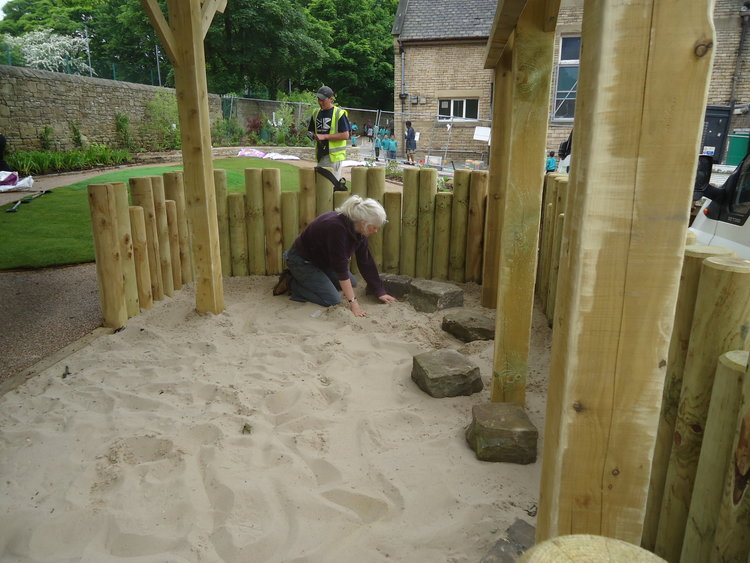 Sand in Playgrounds